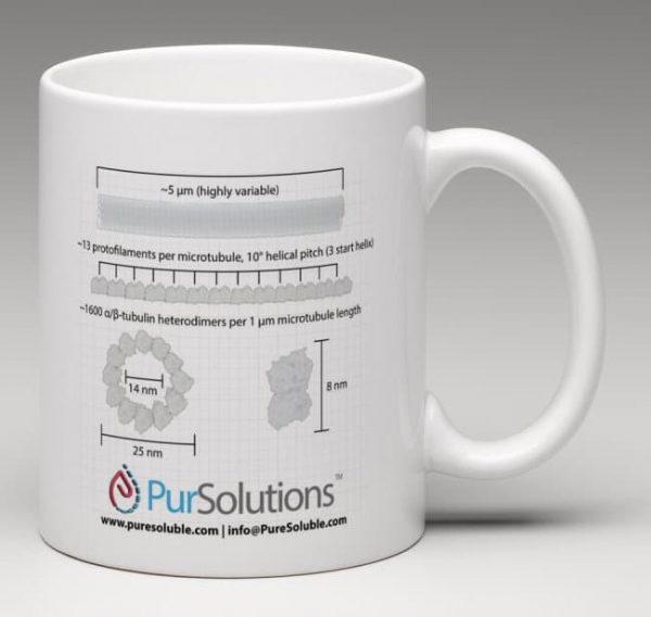 Team Tubulin Coffee Mug Back